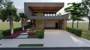 1 FERSANT fachada condominio casa planta