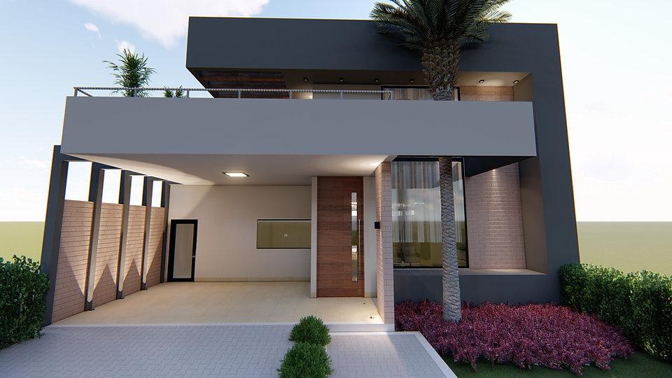FERSANT fachada casa planta projeto 1.6.