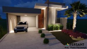 5 FERSANT fachada condominio casa planta