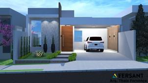 24 fachada condominio casa planta projet