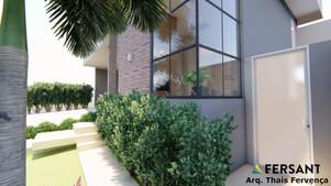 17 fachada condominio casa planta projet