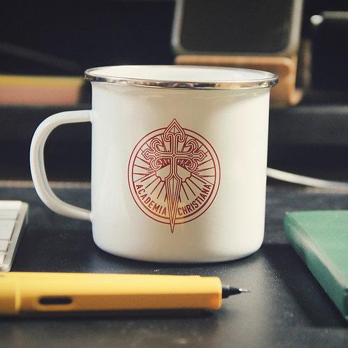 Tasse à café en émail - Academia Christiana