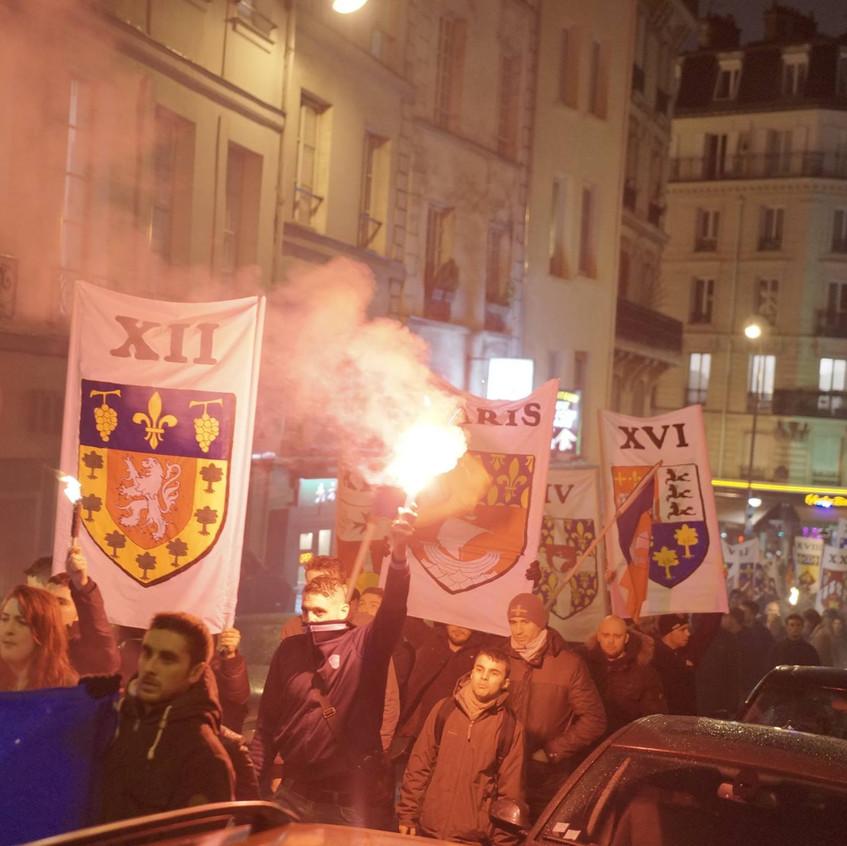 Procession à Sainte Geneviève