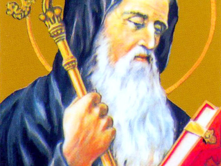 Saint Benoît, la grandeur de l'humilité