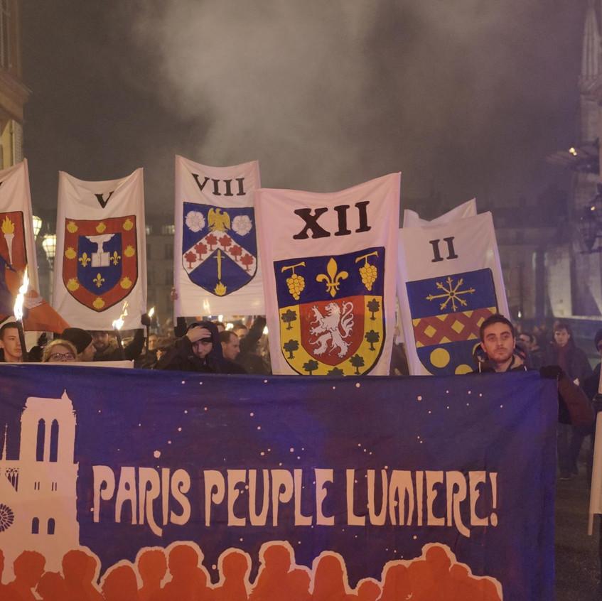 Paris peuple de lumière
