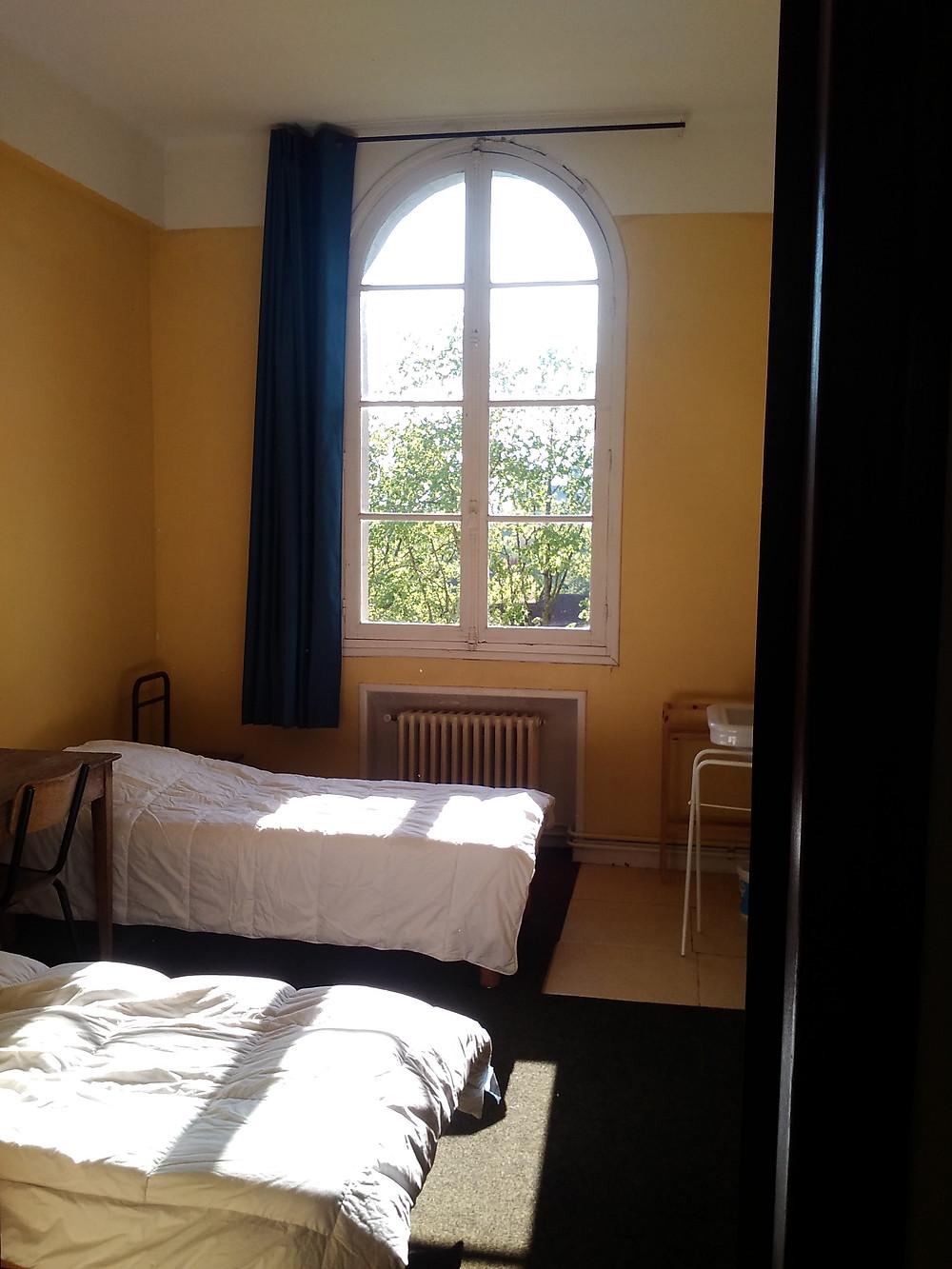 Photo d'une chambre à l'université d'été