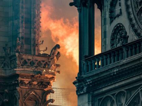 Incendie - Poème