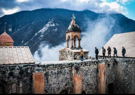 Le Chemin de Croix de l'Arménie en Artsakh