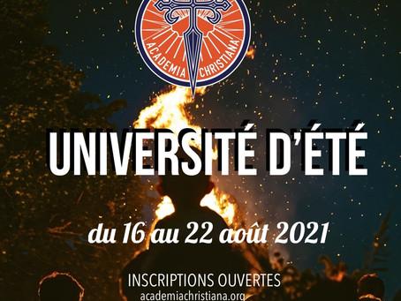 Université d'été 2021 : La communauté - construire pour ne plus subir