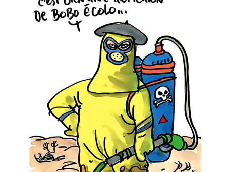 Pesticides : épandage de bêtise au-dessus d'un nid de Français