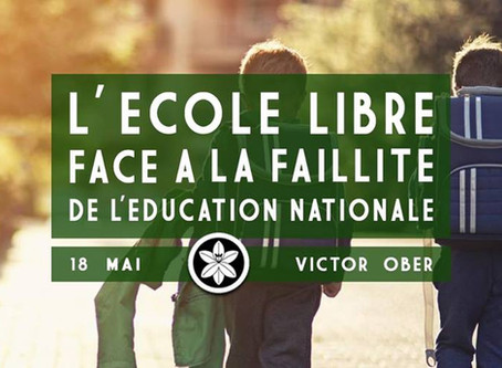 L'école libre et la faillite de l'Education nationale