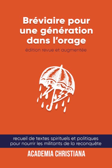 Bréviaire pour une génération dans l'orage - Nouvelle édition