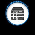 At Home Computer Data Backup Recovery Logo