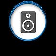 At Home Computer Home Entertainment Logo