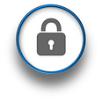 At Home Computer Firewall Security Logo