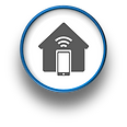 At Home Computer Home Automation Logo