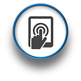 At Home Computer Smartphone Tablet Logo