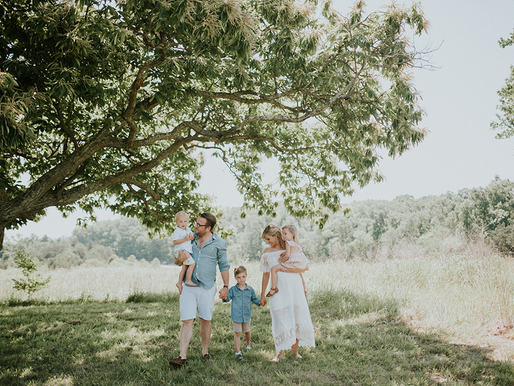Summer Mini Session at Manassas Battlefield Park