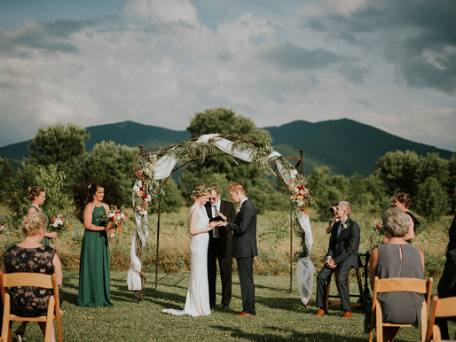 Wedding at Khimaira Farm - Luray VA