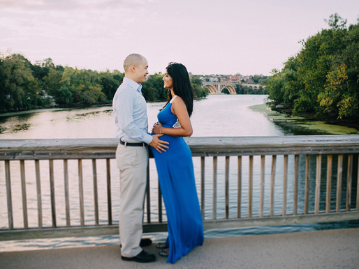 Maternity session at Theodore Roosevelt Island DC