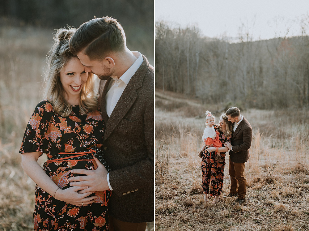 Charlottesville maternity session