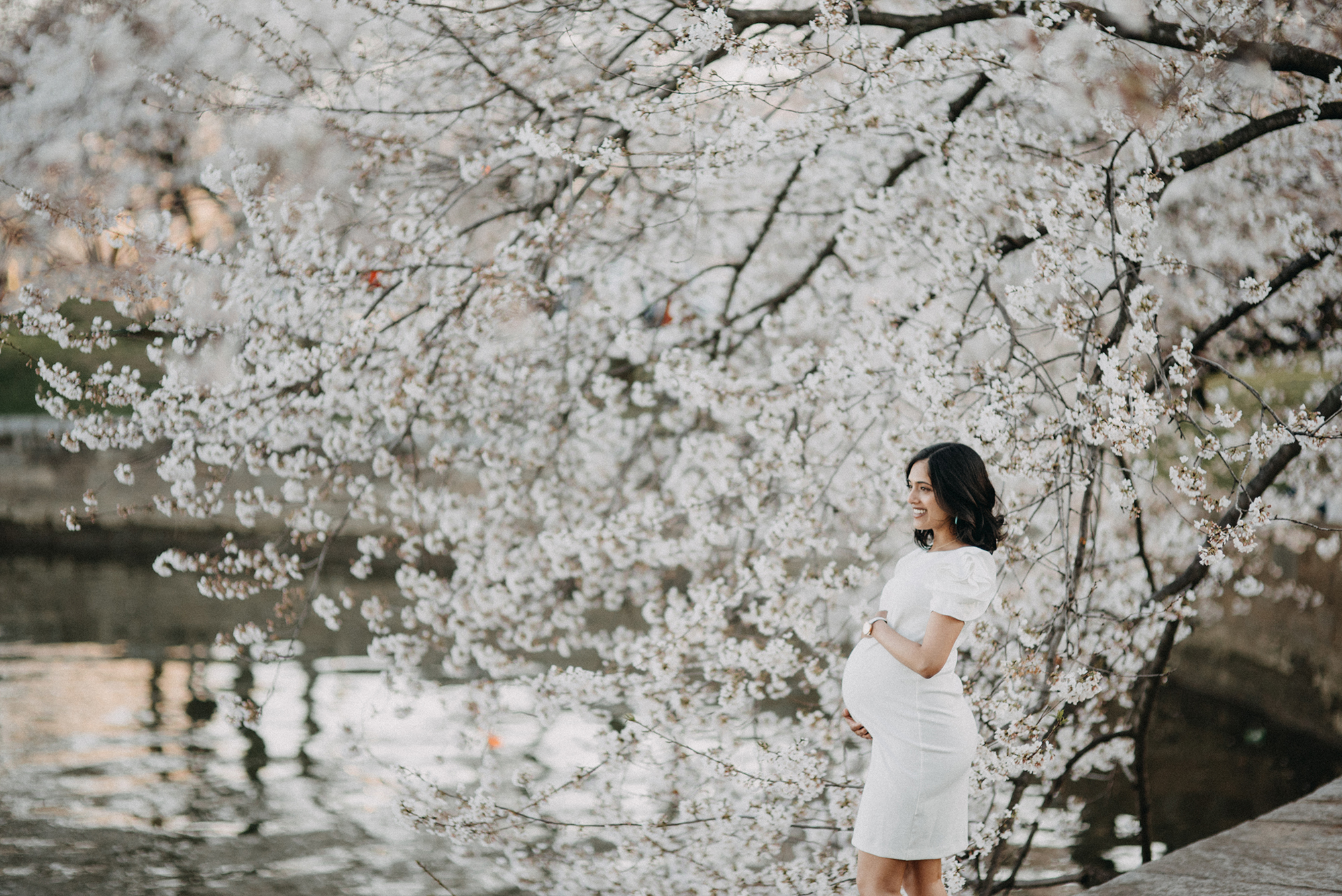 Cherry Blossom Maternity session