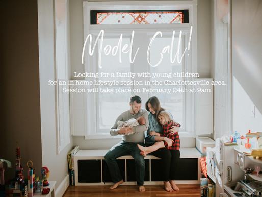 Model call - Charlottesville