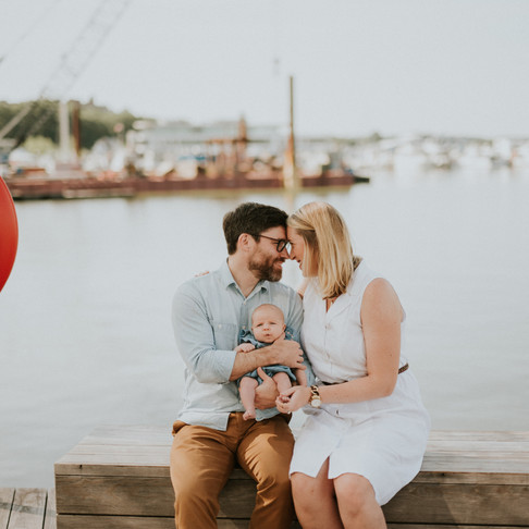 FAMILY SESSION AT THE WHARF DC