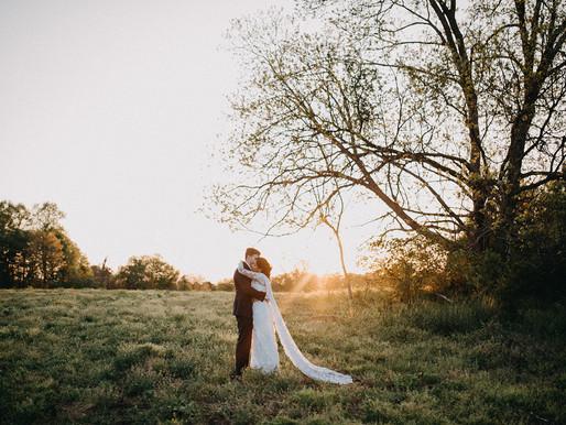 J & C Williamsburg wedding