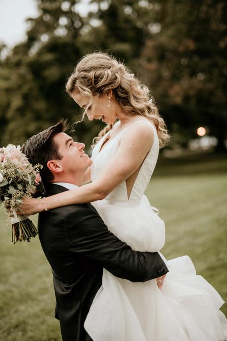 romantic lexington wedding photo