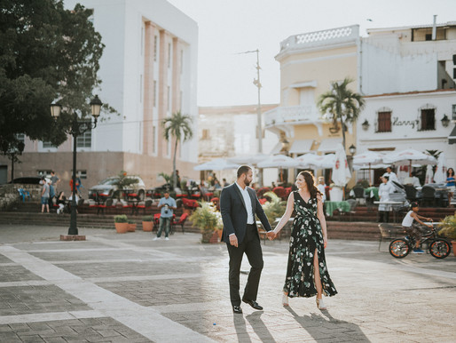 Jackie + Gabriel - engagement session in Dominic Republic