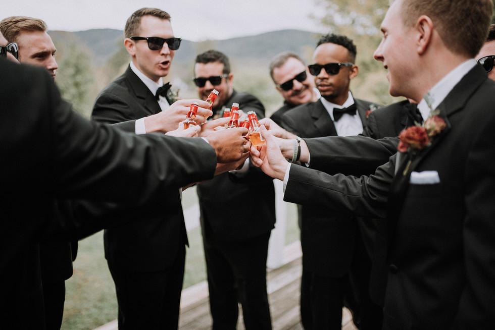 groom toast veritas
