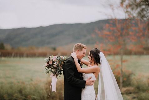 Veritas winery wedding