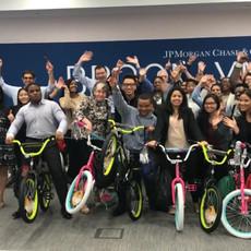 Volunteers Build Bikes in Brooklyn, NY