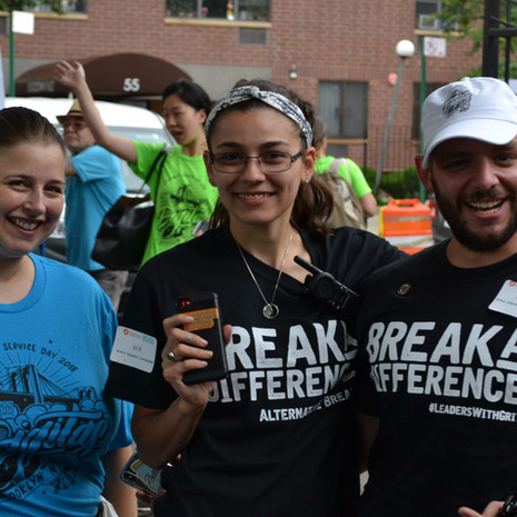 The Break A Difference Team is Always Ready!