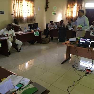 Sphere for Practitioners Training, Nigeria