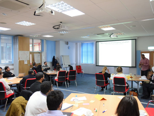 Training with Humanitarian Academy for Development