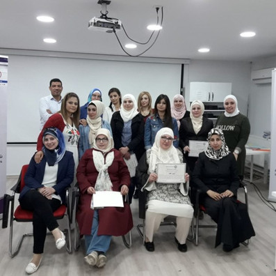 Training for Syrian Women Humanitarian Network