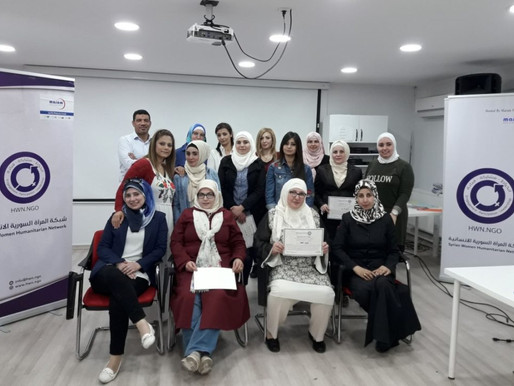 Training for Syrian Women Humanitarian Network