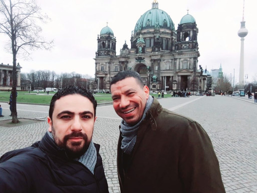 OC in Berlin with the German Federal Foreign Office