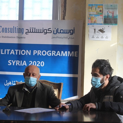 Home Rehabilitation: Syria, 2020