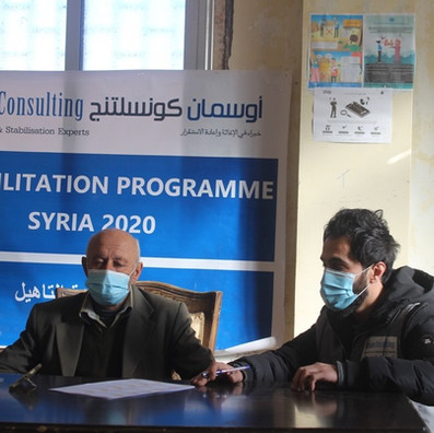 Shelter and Settlement Programming: Syria, 2020