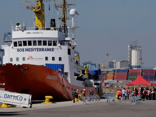 OC assists with Aquarius rescue ship in Spain #WorldRefugeeDay