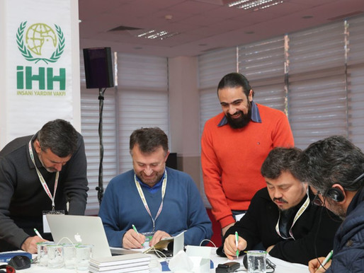Introduction to Sphere- Workshops conducted in Turkey with IMC-IHH