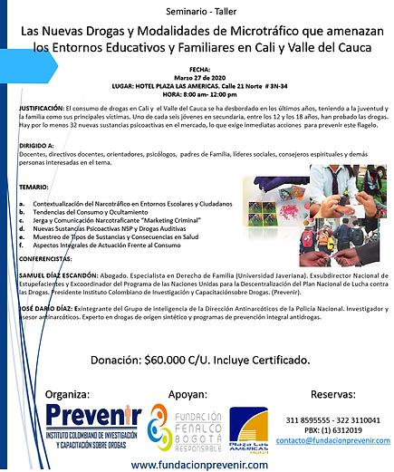 Seminario-Taller. Cali Valle del Cauca.p
