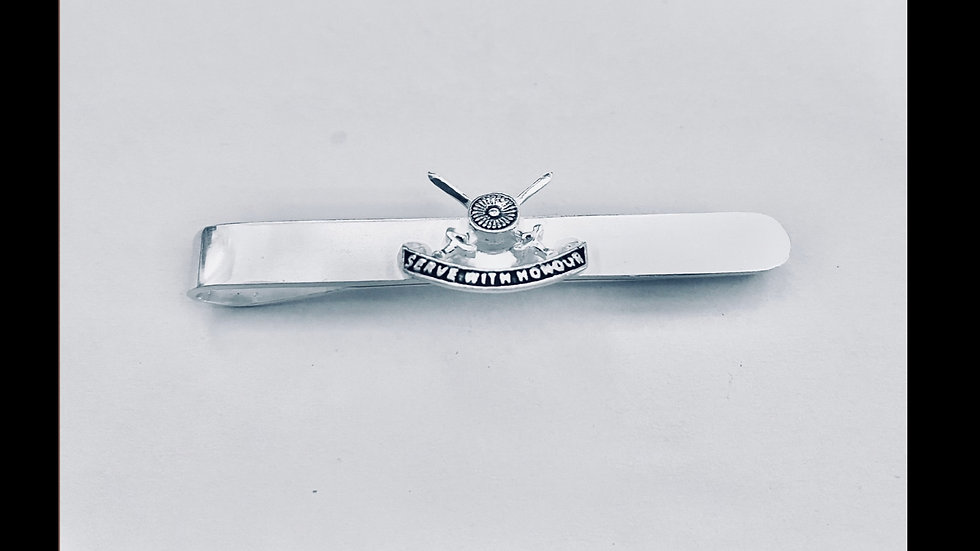 OTA TIE PINS - Silver Plated 3D Finish