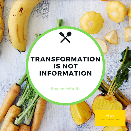 TRANSFORMATION IS NOT INFORMATION