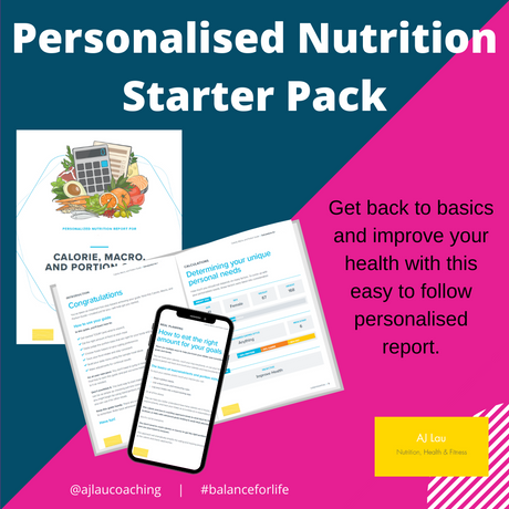 Back to Basics with a Personalised Nutrition Report
