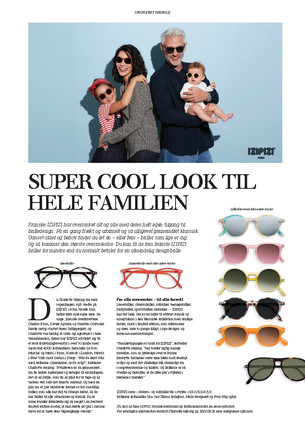 IZIPIZI Advertorial Jyllands Posten