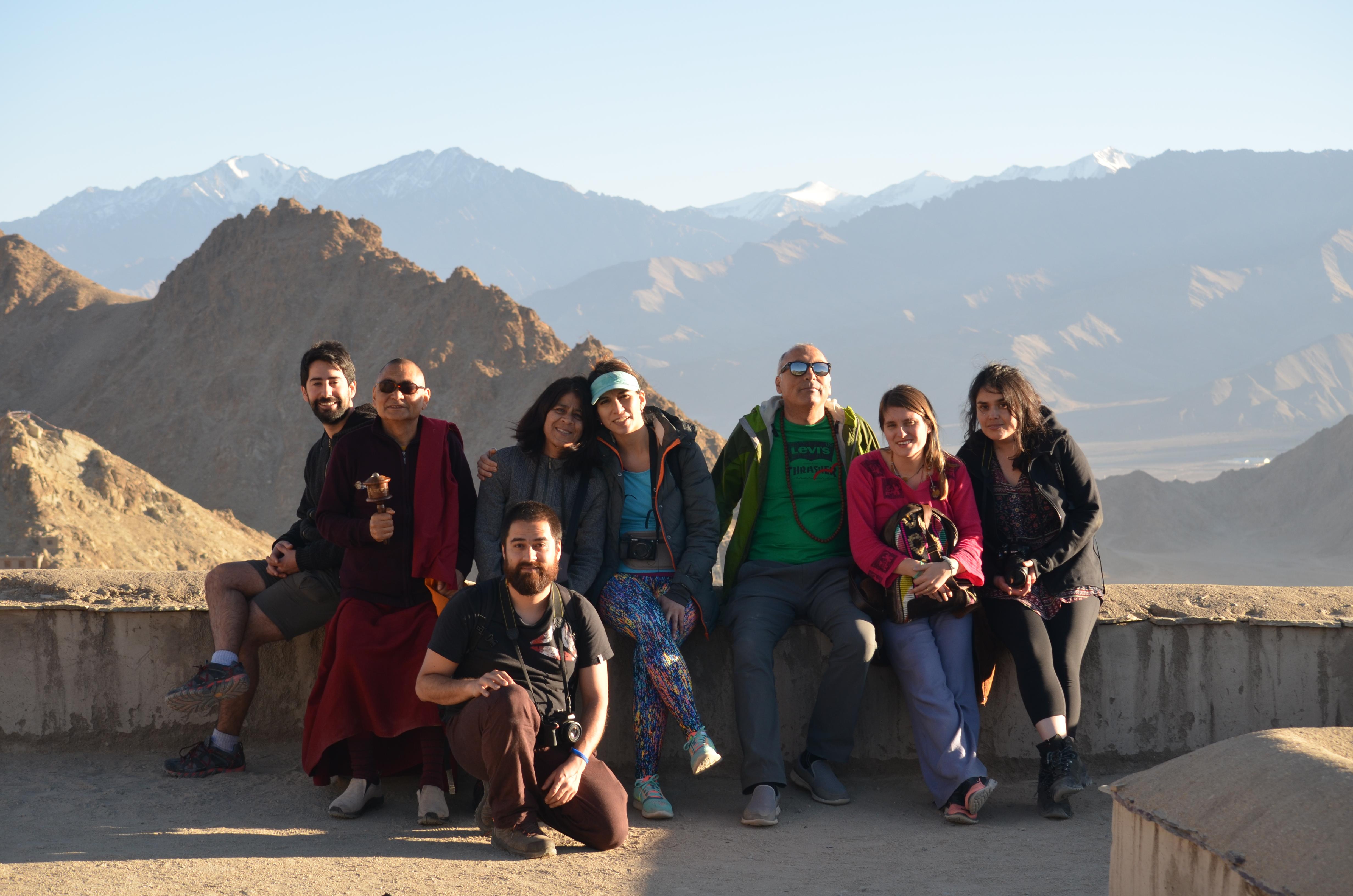 India 2017 con Lama Drubpon Otzer